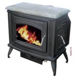 vitre pour po le bois pour po le tradition cashin. Black Bedroom Furniture Sets. Home Design Ideas