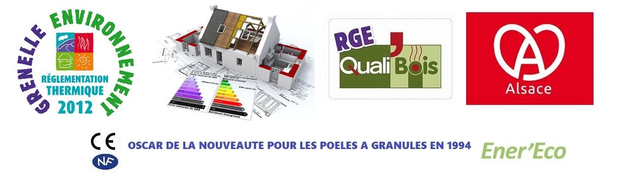 Société conforme RT2012 - normes CE - certifiée RGE